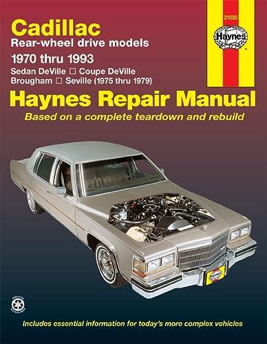 Cadillac RWD Automotive Repair Manual