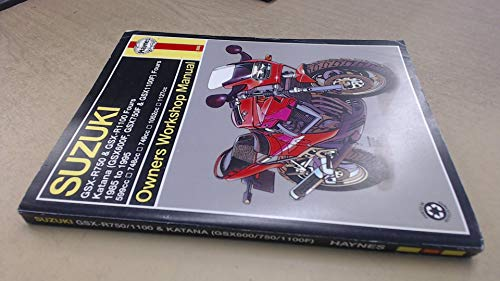 9781563921865: Suzuki GSX-R750 and GSX-R1100 Fours, Katana (GSX600F, GSX750F and GSX1100F) Fours Owners Workshop Manual (Haynes Owners Workshop Manuals)