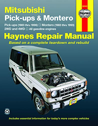 9781563921926: Mitsubishi Pickup & Montero '83'96 (Haynes Repair Manuals)