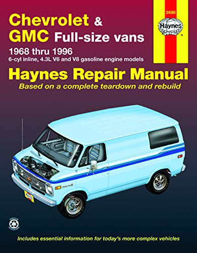 9781563921971: Chevrolet & GMC Full-Size Vans 1968 Thru 1996 (Haynes Automotive Repair Manuals)