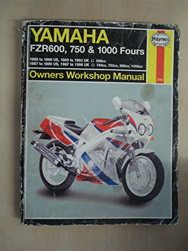 Yamaha Fzr600,750 & 1000 Fours Owners, Workshop: A. Ahlstrand; John