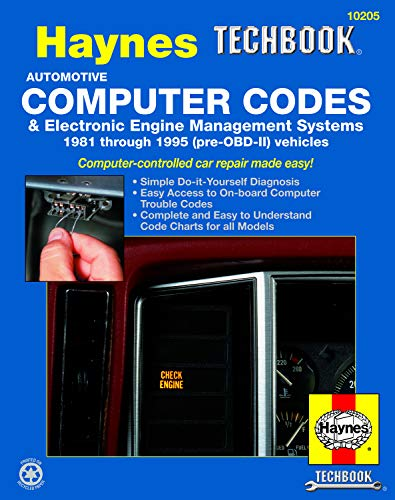 9781563922329: Automotive Computer Codes and Electronic Engine Management Systems Manual (Haynes Techbooks)