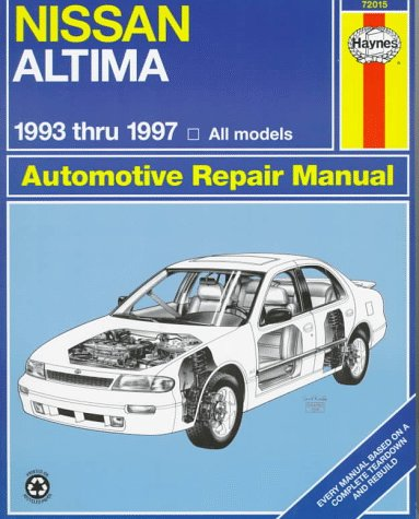 9781563922367: Nissan Altima Automotive Repair Manual: Models Covered : All Nissan Altima Models 1993 Through 1997