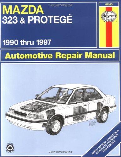 9781563922510: Mazda 323 & Protege : Automotive Repair Manual (Haynes Automotive Repair Manual Series) (US model)