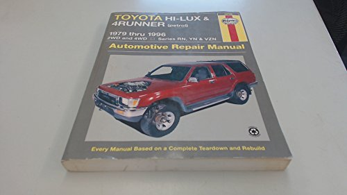 9781563922565: Toyota Hi-Lux and 4 Runner (petrol) Australian Automotive Repair Manual (Haynes Automotive Repair Manuals)