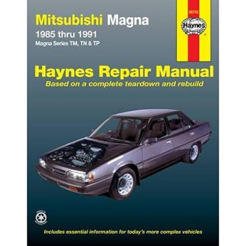 9781563922688: Mitsubishi Magna Australian Automotive Repair Manual: 1985-1991 (Haynes Automotive Repair Manuals)