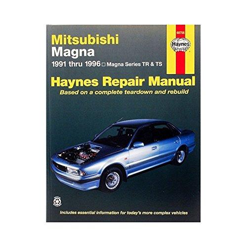 9781563922695: Mitsubishi Magna Australian Automotive Repair Manual: 1991 to 1996 (Haynes Automotive Repair Manuals)