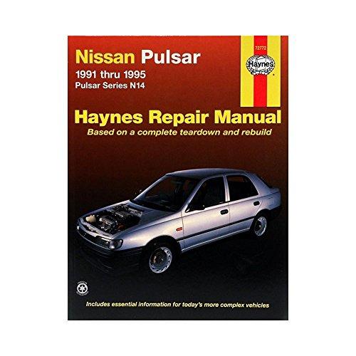 9781563922725 nissan pulsar australian automotive repair manual rh abebooks com nissan pulsar n14 service manual nissan pulsar gtir workshop manual download