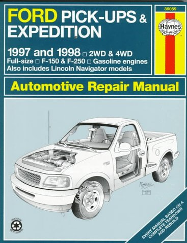 9781563922862: Ford Pickups & Expedition: Lincoln Navigator Automotive Repair Manual (Haynes Automotive Repair Manuals)