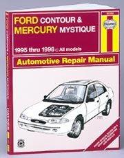 9781563922886: Ford Contour and Mercury Mystique Automotive Repair Manual: All Ford Contour and Merury Mystique Models1995 Through 1998 (Haynes Automotive Repair Manual Series)