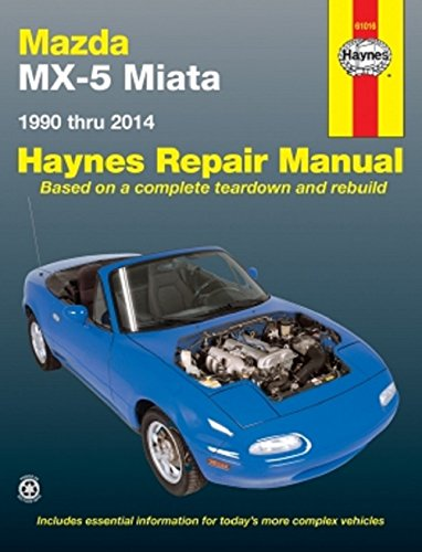 9781563922893: Mazda MX5 Miata (90-97) Automotive Repair Manual (Haynes Automotive Repair Manuals)