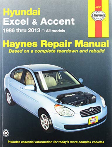 9781563922909: Hyundai Excel & Accent Automotive Repair Manual: All Hundai Excel and Accent Models 1986-1998