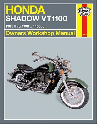 9781563923135: Haynes Honda Shadow Vt1100 Owners Workshop Manual: 1985 Thru 1998 (Haynes Automotive Repair Manuals)