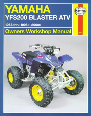 9781563923173: Yamaha YFS200 Blaster ATV Owners Workshop Manual (Haynes Owners Workshop Manuals)