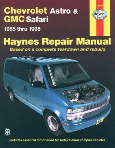 9781563923371: Chevrolet Astro and G.M.C.Safari Mini-vans (1985-1998) Automotive Repair Manual (Haynes Automotive Repair Manuals)