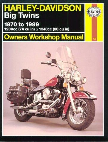 9781563923456: Harley Davidson Big Twins 1970 to 1999 (Haynes Owners Workshop Manual Series)