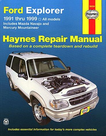 9781563923548: Ford Explorer: 1991 Thru 1999 (Hayne's Repair Manuals)