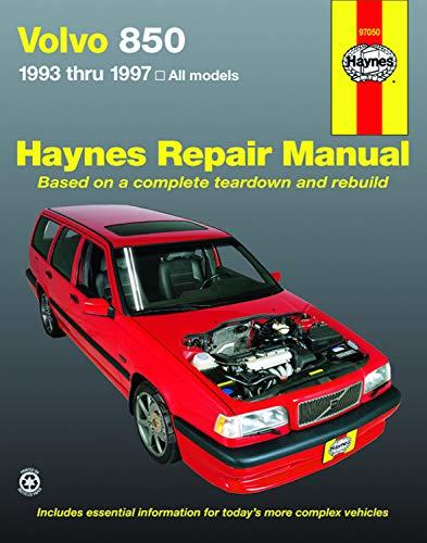 9781563923555: Volvo 850, 1993-1997 (Haynes Repair Manual (Paperback))