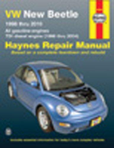 9781563923623: Vw New Beetle Automotive Repair Manual: 1998 Thru 2000