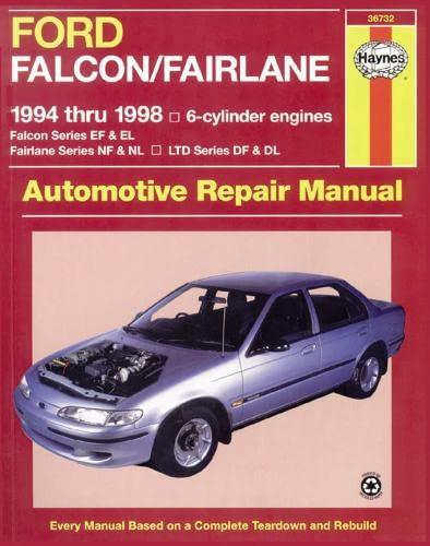 Ford Falcon/Fairlane Australian Automotive Repair Manual: Killingsworth, Jeff; Haynes, J. H.