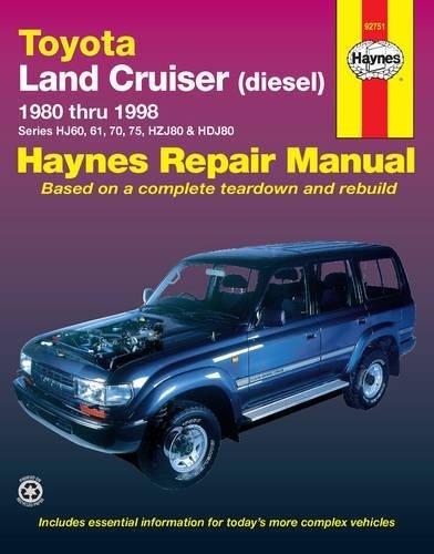 9781563923722: Toyota Land Cruiser Diesel (80 - 98): 1980-1998 (Haynes Automotive Repair Manuals)