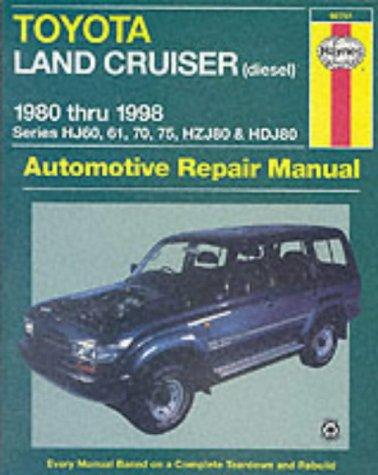Toyota Land Cruiser Australian Automotive Repair Manual (Haynes Automotive Repair Manuals): Haynes,...