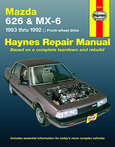 9781563923739: Mazda 626 & Mx-6 Automotive Repair Manual: Front-Wheel Drive 1983- 1992 (Haynes Automotive Repair Manual Series)