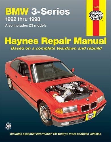BMW 3-series Automotive Repair Manual: 1992 to 1998 (Paperback)