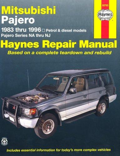 9781563923821: Mitsubishi Pajero Australian Automotive Repair Manual: 1983-1996 (Haynes Automotive Repair Manuals)