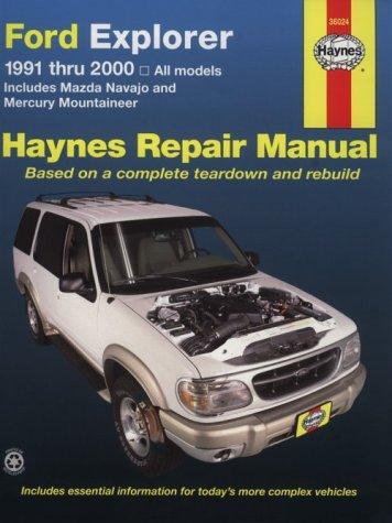 9781563923906: Ford Explorer & Mazda Navajo'91'00 (Haynes Repair Manual)