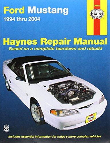 Ford Mustang 1994 Thru 2000  Haynes Repair Manual Based On A Complete Teardown And Rebuild