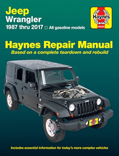 9781563924026: Jeep Wrangler Automotive Repair Manual: 1987 to 2000 (Haynes Automotive Repair Manuals)