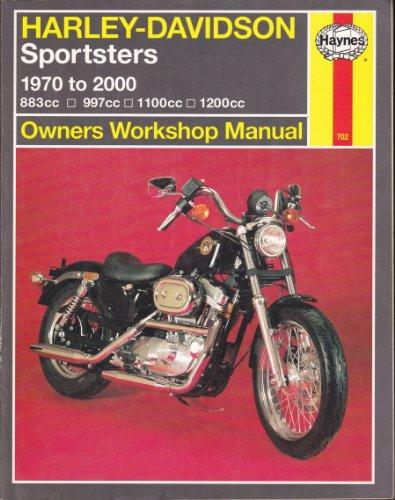 Haynes Harley-Davidson Sportster: 1970 Thru 2000 (Haynes Owners Workshop Manual Series): Choate, ...