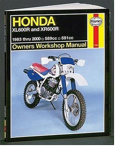 9781563924088: Honda XL600R and XR600R Owners Workshop Manual: 1993-2000 (Haynes Owners Workshop Manuals)