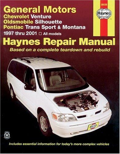 Chevrolet Venture, Oldsmobile Silhouette, Pontiac Trans Sport and Montana, 1997-2001