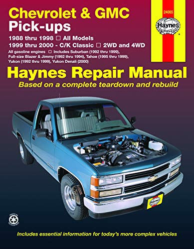 Chevrolet & GMC Pick-ups Automotive Repair Manual: By Ken Freund And John H. Haynes.