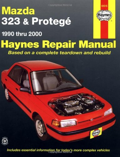 9781563924439: Mazda 323 and Protege Automotive Repair Manual: 1990 to 2000 (Haynes Automotive Repair Manuals)