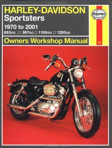 9781563924453: Harley Davidson Sportsters 1970-2000 (Haynes Owners Workshop Manual Series)