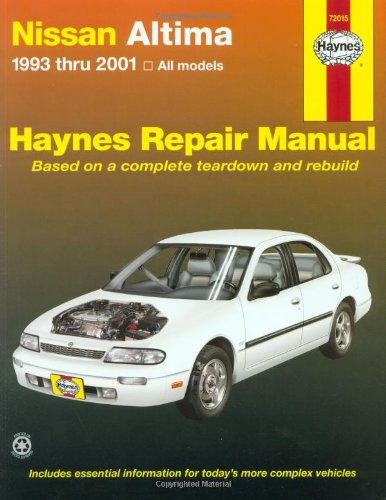 9781563924491: Nissan Altima 1993