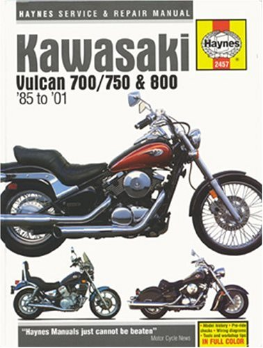 Kawasaki Vulcan 700/750 and 800, 1985 Thru 2001 (Haynes Manuals): Ahlstrand, Alan