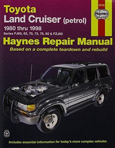 9781563924590: Toyota Land Cruiser Automotive Repair Manual: 1980 to 1998 (Haynes Automotive Repair Manuals)