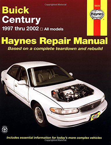 9781563924712: Buick Century 1997 Thru 2002: Haynes Repair Manual (Haynes Repair Manuals)