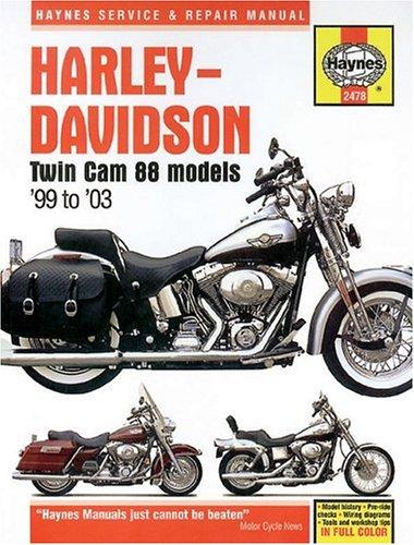 9781563924781: Harley-Davidson Twin Cam 88 (99 - 03): Bk. 2478 (Haynes Service & Repair Manuals)