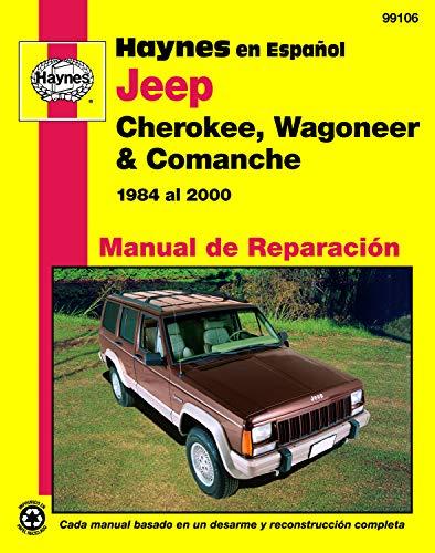 9781563924927: Jeep Cherokee Wagoneer: 84-00 (Manual de Reparacion)