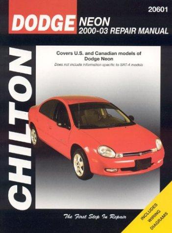 9781563925009: Dodge Neon 2000-2003 (Chilton's Total Car Care Repair Manual)