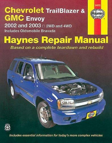 9781563925023: CHEVROLET TRAILBLAZER & GMC ENVOY 2002-2003 (Haynes Manuals)