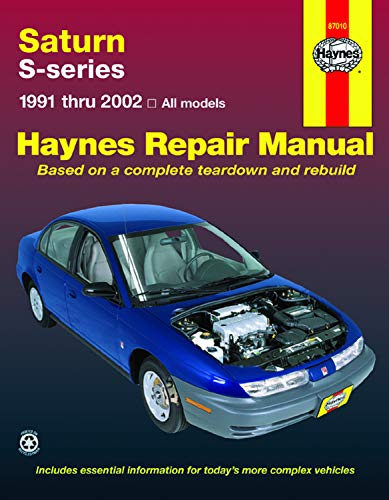 9781563925122: Saturn S-Series: 1991 Thru 2002- All Models (Haynes Repair Manual)