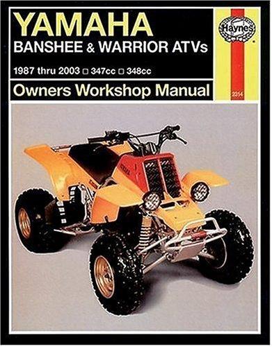 9781563925153: Haynes Yamaha Banshee & Warrior ATVs: 1987-2003 (Haynes Repair Manuals)