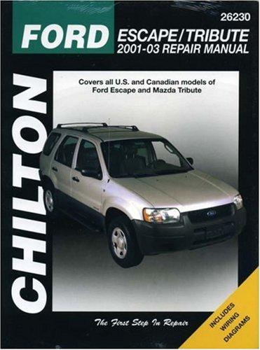 9781563925276: Ford Escape and Mazda Tribute, 2001-03 (Total Car Care)