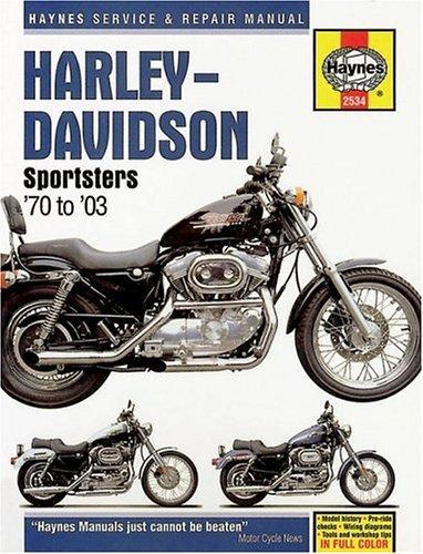 Harley Davidson Sportsters 1970-2003 (Haynes Manuals): Chilton